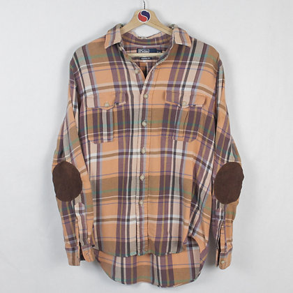 Plaid Polo Ralph Lauren Button Down - M