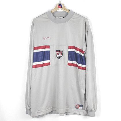 90's USA Soccer Nike Jersey - L