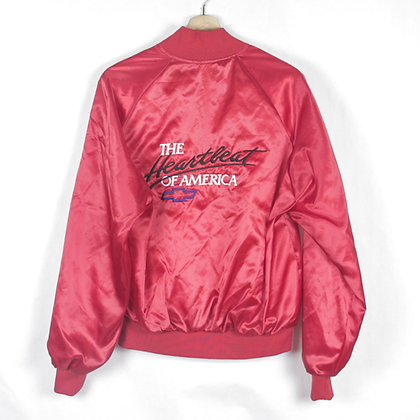80's The Heartbeat of America Chevy Snap Jacket - M