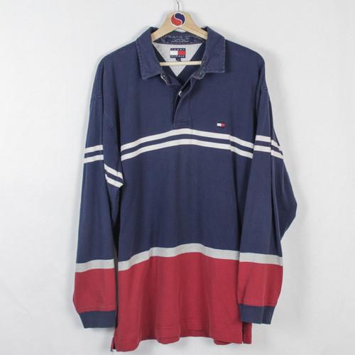472d07ab Vintage Tommy Hilfiger Rugby - XL