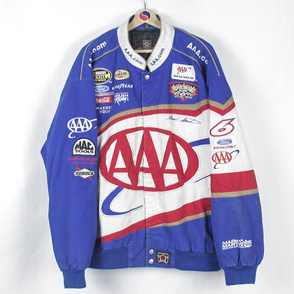 2000's Triple A x Ford Mark Martin NASCAR Jacket - 3XL (XXL)