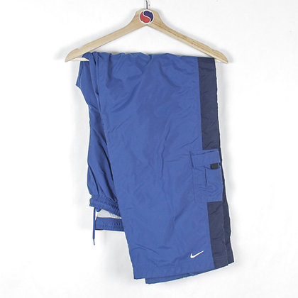 2000's Lined Nike Track Pants - L