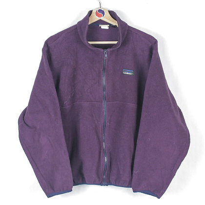90's Women's L.L.Bean Zip Fleece - L
