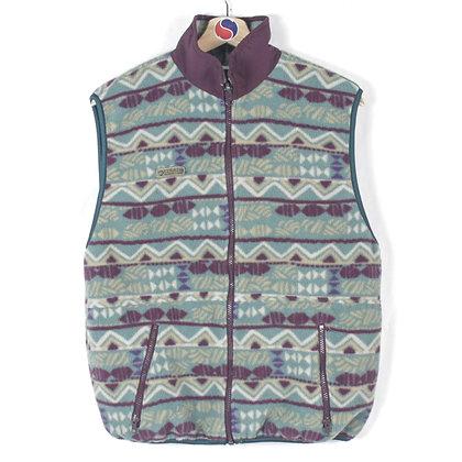 90's Women's Columbia Fleece Vest - M