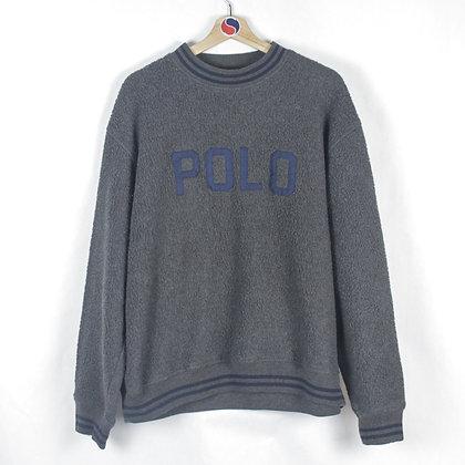 90's Polo Ralph Lauren Fleece Crewneck - XL