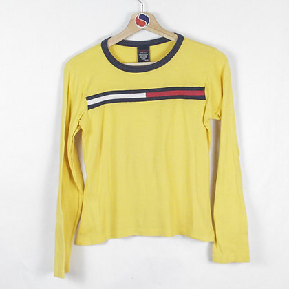 Vintage Women's Tommy Jeans Long Sleeve - M (XS)