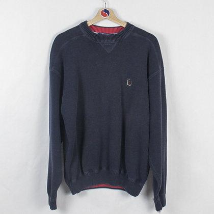 Vintage Tommy Hilfiger Crest Sweater - L