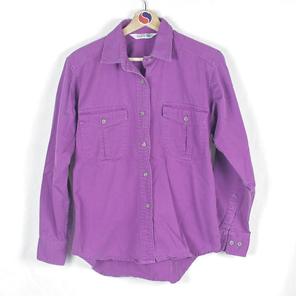 80's Women's The North Face Button Down - M