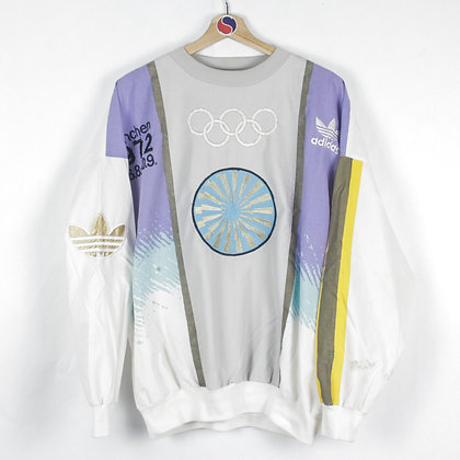 80's Adidas Olympic Games Windbreaker - L