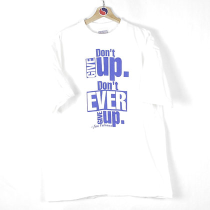 90's Don't Give Up Tee - XL
