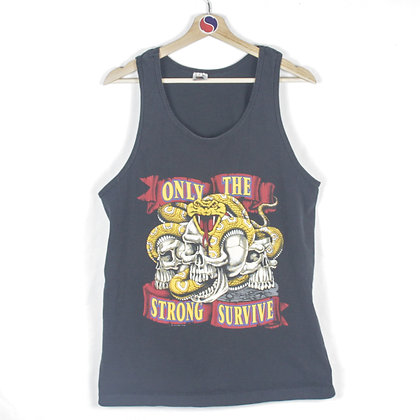90's Only The Strong Survive Tank Top - M