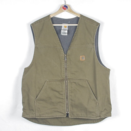 Carhartt Fleece Lined Vest - XL
