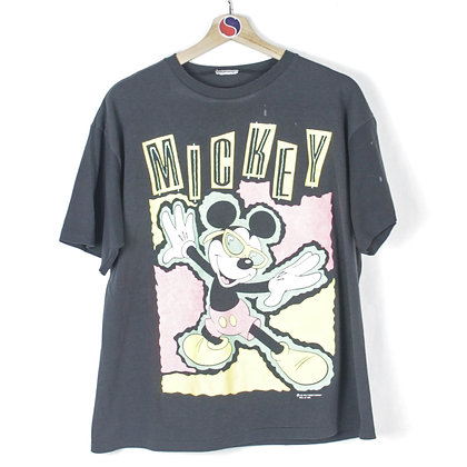 90's Mickey Mouse Tee - L