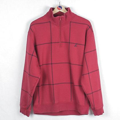 Nautica Zip Sweatshirt - L