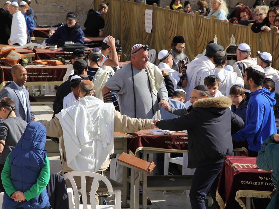 Dancing in Bar Mitzvah