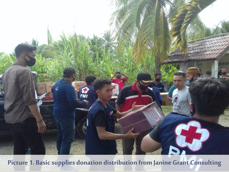 JGC Supports the Emergency Response for Rohingya Refugees in Aceh Utara, Indonesia