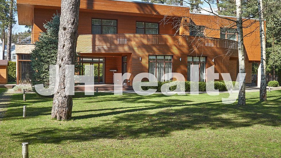 Аренда дома в Юрмале в современном стиле, Лиелупе
