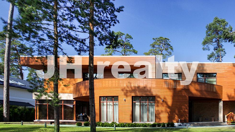Дом в современном стиле, Лиелупе