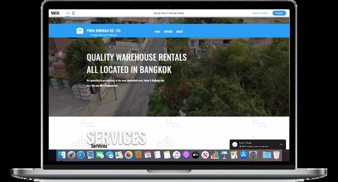 Phra Boriban   Website Rebranding