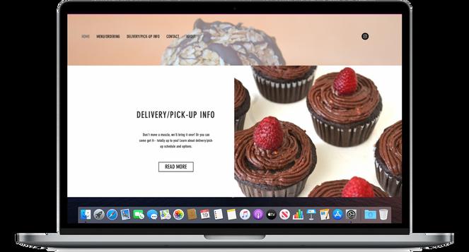 The Sacral Bakery   Web Design