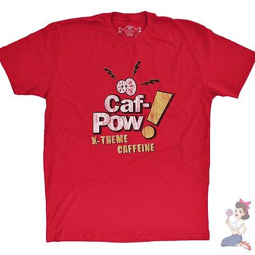 Ncis Caf Pow X-treme Caffeine flat red t-shirt