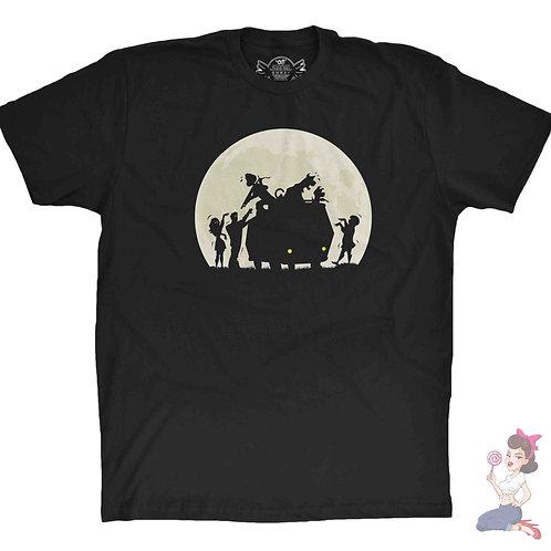 Scooby Doo zombie island black t-shirt