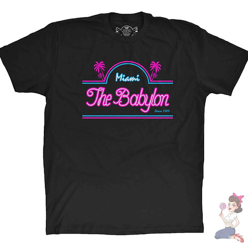 Scarface the babylon nightclub black t-shirt