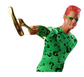 Jim Carey batman's Riddler Character
