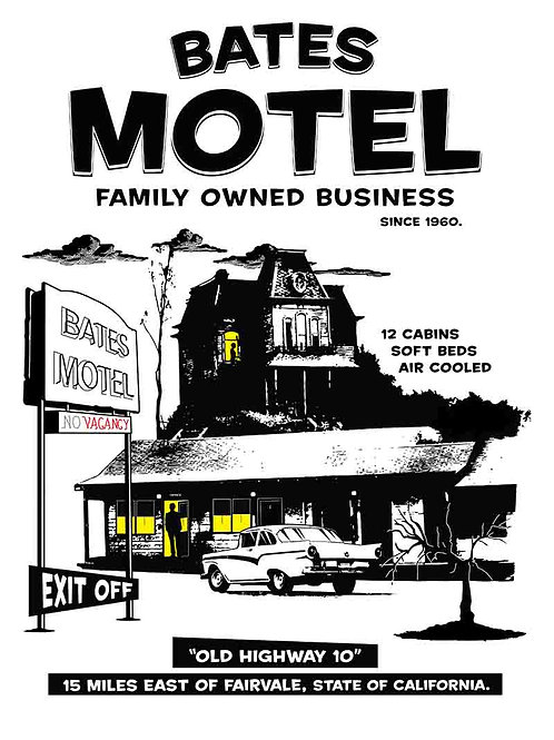 Bates Motel Family Owned Business TV Poster