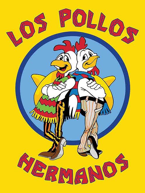 Breaking Bad Los Pollos Hermanos Television Poster