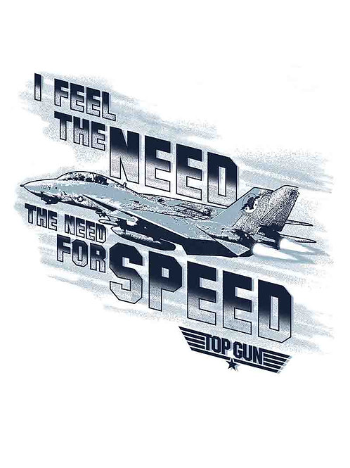 Top Gun I Feel The Need The Need For Speed Movie Poster