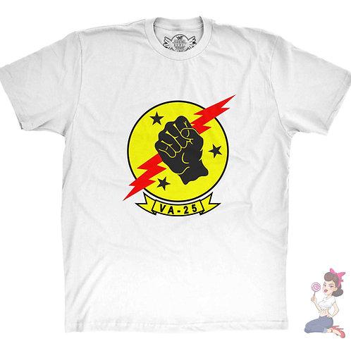Top Gun VA 25 Fist of the fleet t-shirt