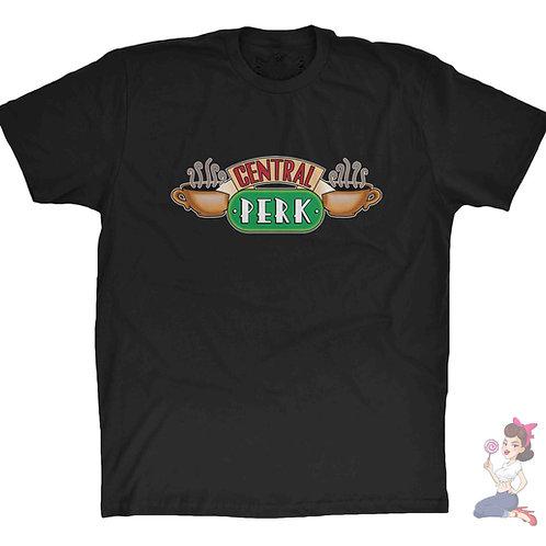 Friends Central Perk black t-shirt