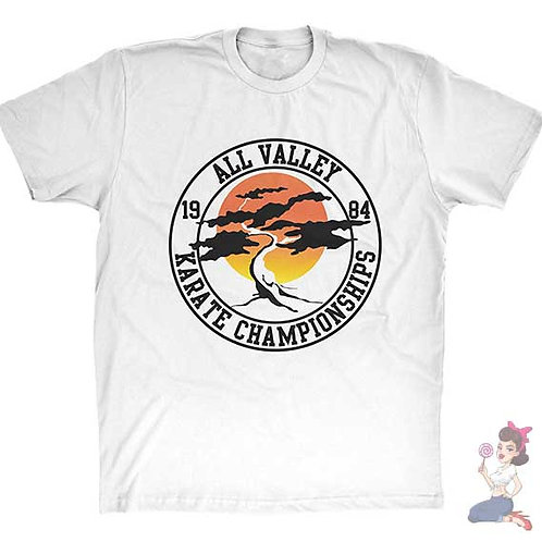 Sunshine all valley karate championships flat white t-shirt