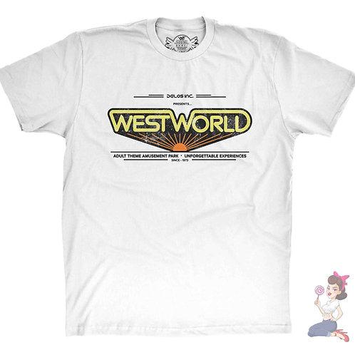 Westworld 1973 white t-shirt