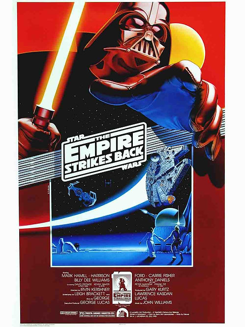 Star wars - the empire strikes back movie poster variant