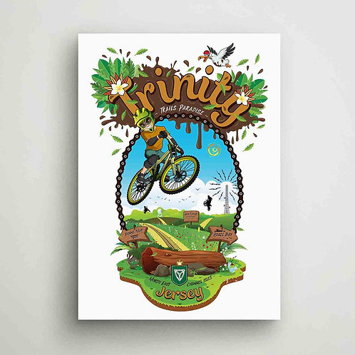 Trinity Trails Paradise Poster Print Jersey