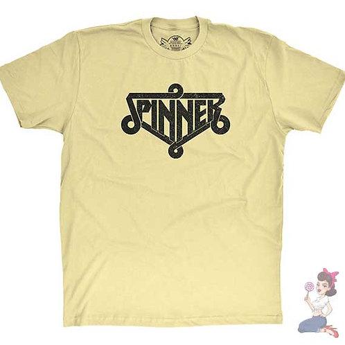 Spinner flat yellow t-shirt