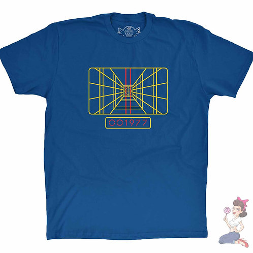Star Wars Stay On Target flat blue t-shirt