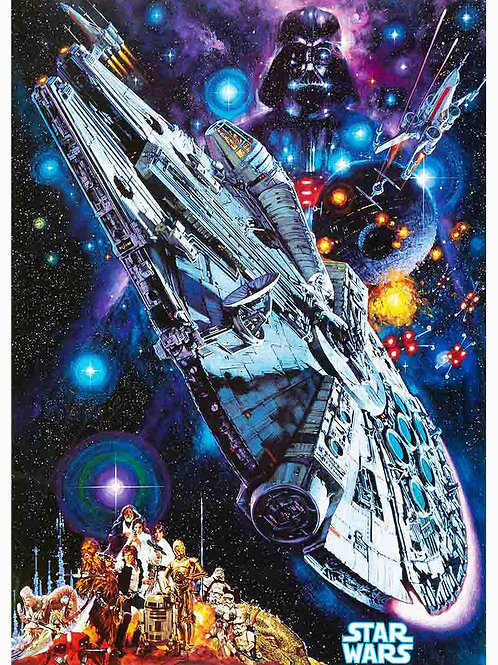 Star Wars The Empire Strikes Back Variation Poster