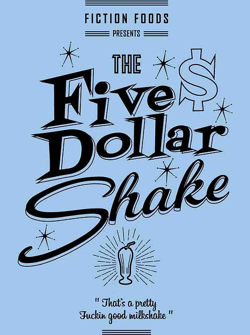 Pulp Fiction Five Dollar Shake Movie Poster