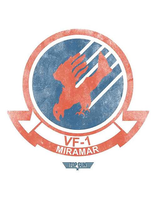 Top Gun VF-1 Miramar Poster