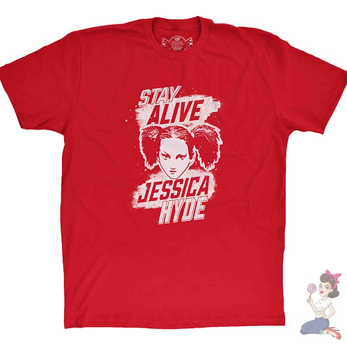 Stay Alive Jessica Hyde t-shirt