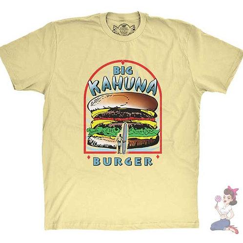 big kahuna flat yellow t-shirt