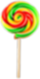 Green Twirly Lollypop