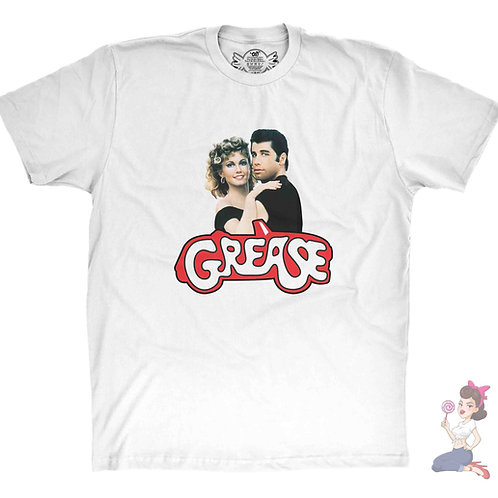 Grease Danny and Sandy Movie t-shirt