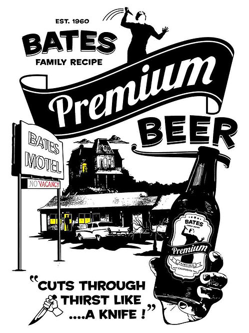 Bates Motel -Bates Premium Beer Alternate poster