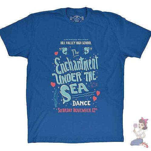 Enchantment under the sea flat Blue t-shirt