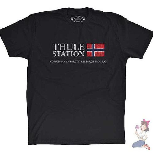 Thule Station flat black t-shirt