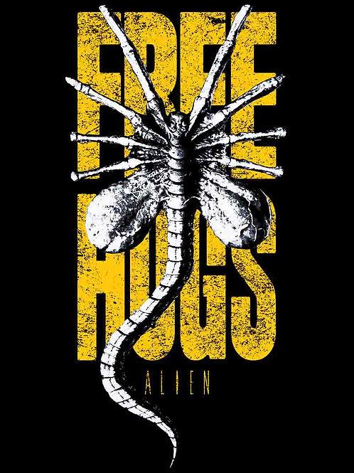 Alien Free Hugs Poster
